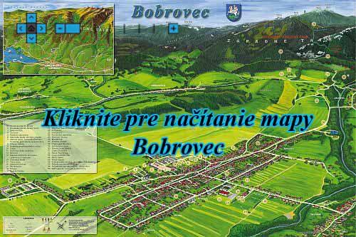 Interaktívna maľovaná mapa Bobrovec