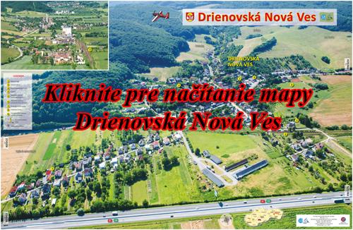 Interaktívna fotomapa Drienovská Nová Ves