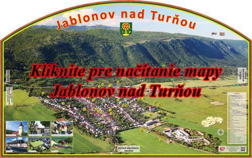 Interaktívna fotomapa Jablonov nadTurňou