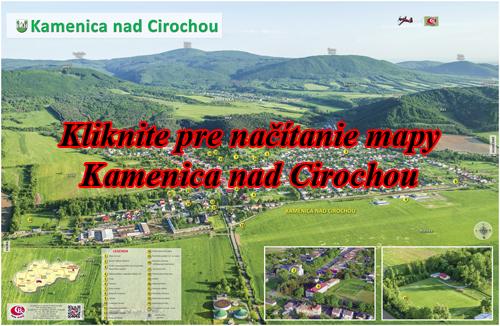 Interaktívna fotomapa Kamenica nad Cirochou