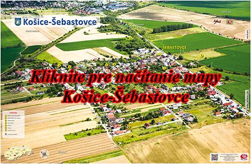 Interaktívna fotomapa Košice-Šebastovce