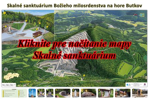 Interaktívna maľovaná mapa Ladce - sanktuarium
