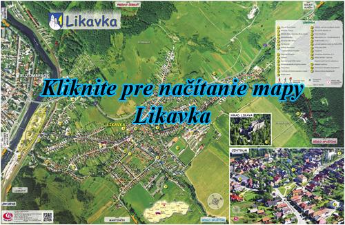 Interaktívna fotomapa Likavka