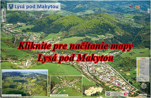 Interaktívna fotomapa Lysá pod Makytou