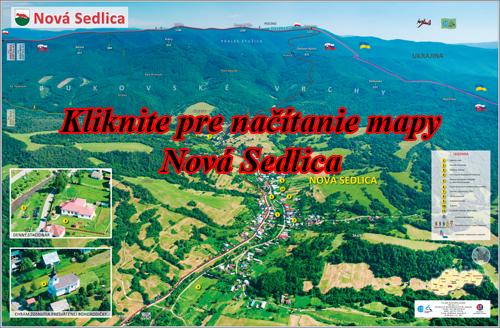 Interaktívna fotomapa Nová Sedlica