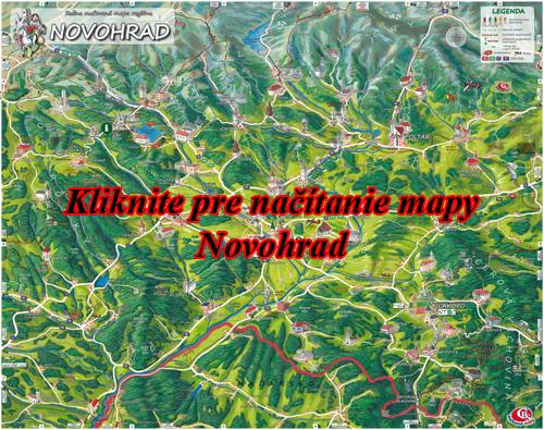 Interaktívna maľovaná mapa Novohrad