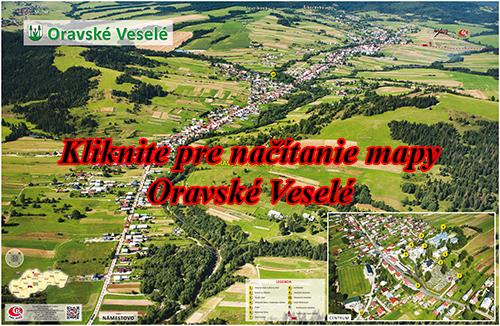 Interaktívna fotomapa Oravské Veselé