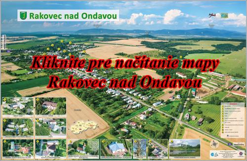 Interaktívna fotomapa Rakovec nad Ondavou