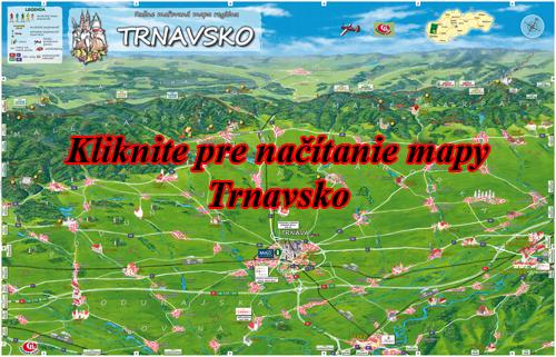 Interaktívna maľovaná mapa Trnavsko