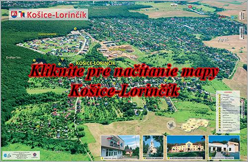 Interaktívna fotomapa Košice-Lorinčík