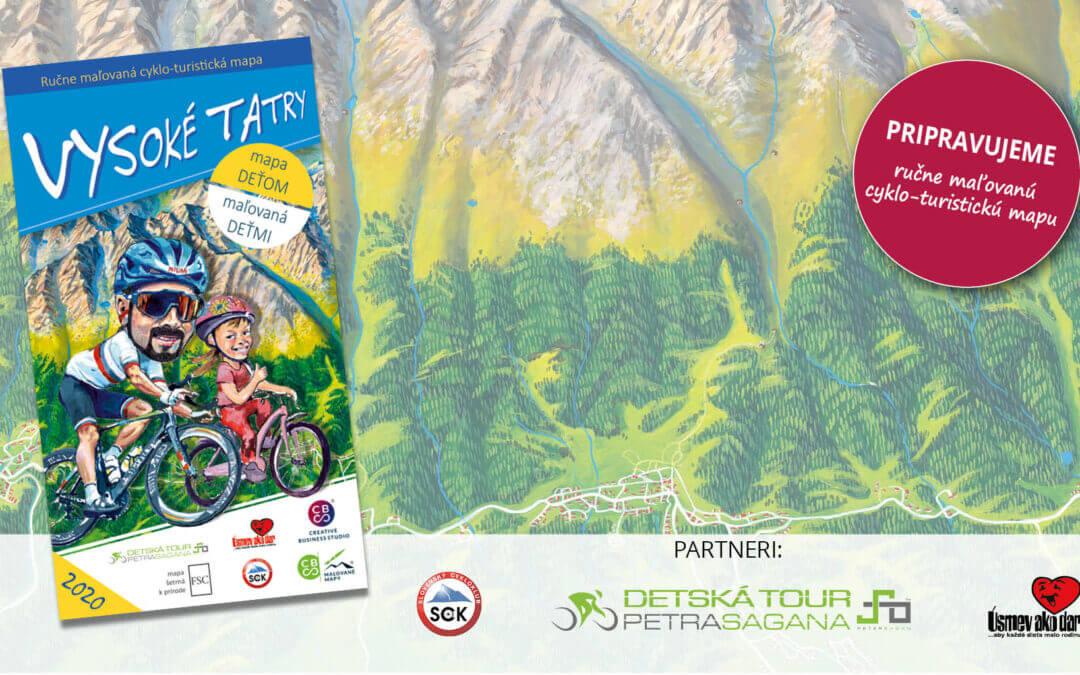 Pripravujeme maľovanú cyklo – turistickú mapu Vysoké Tatry deťom