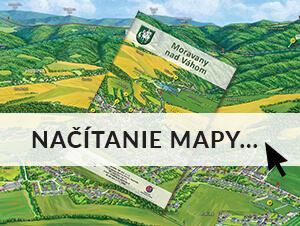 Maľovaná mapa Moravany nad Váhom